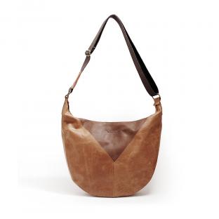 Brown Vintage Shoulder Bag Camo VIDA clothing