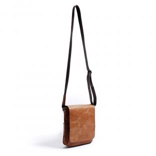 Brown Vintage Shoulder Street Bag Camo VIDA clothing