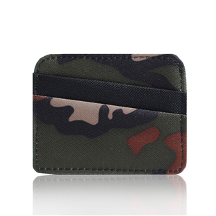 Card Holder Wallet -Camo