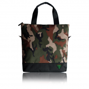 Camo Street Tote Bag, Handbag Shoulder Camouflage Military Designer Top Quality